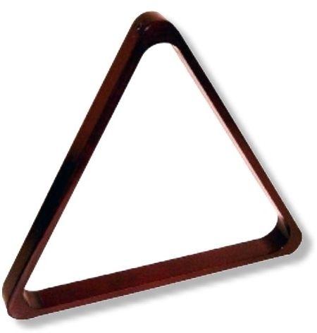 Triangel HOLZ-MAHAGONI für POOL-Kugeln. 57,2 mm