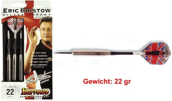 Steeldart SILVER ARROW Gewicht 22 gr