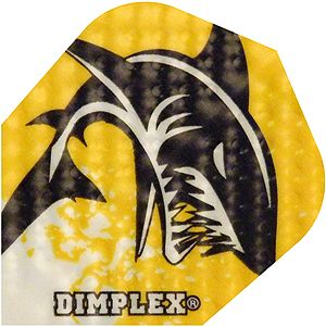 """Dart-Flight Dimplex, Standard, Motiv """"Shark"""""""