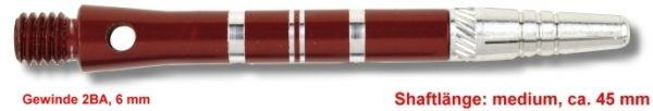 Shaft TOP-SPIN, medium, ca. 45 mm, rot