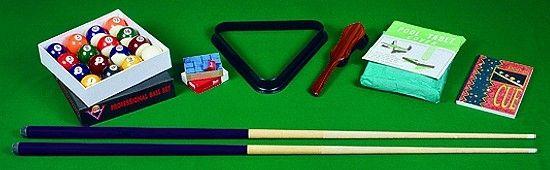 POOL-Tischzubehör-Set für Tisch BLACK-POOL