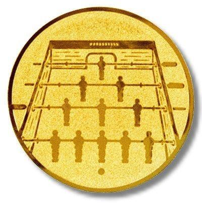 Kicker-Emblem, Farbe GOLD, Durchmesser 50 mm,