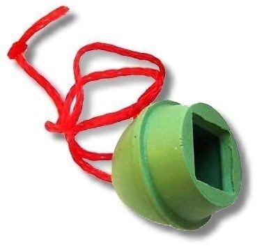 Kreidehalter Gummi mit Kordel