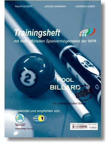 "Trainingsheft Pool"" ,WPA Stufe 2 , 72 Seiten"