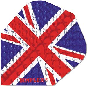 "Dart-Flight Dimplex, Standard, Motiv ""Union Jack"""