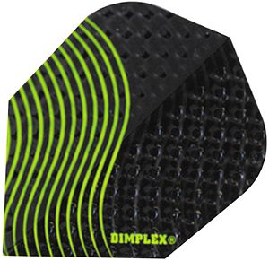 """Dart-Flight Dimplex, Standard, Motiv """"Green Wave"""""""