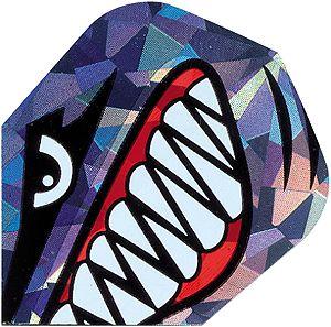 "High-Tech Flys 2D Hologram, Motiv ""Jaw"""