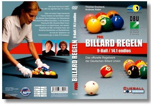 DVD Regeln 9-BAll/14-1, DVD 120 min.