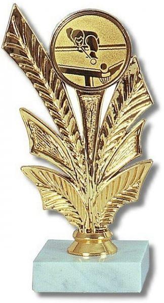 Ständer GOLD , Höhe 17 cm, OHNE EMBLEM