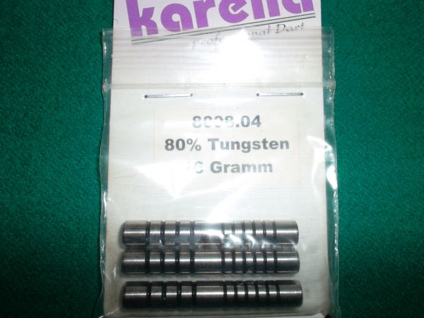 Softdart - Barrel, 80% Tungsten, Gewicht 16g, Länge: 42mm