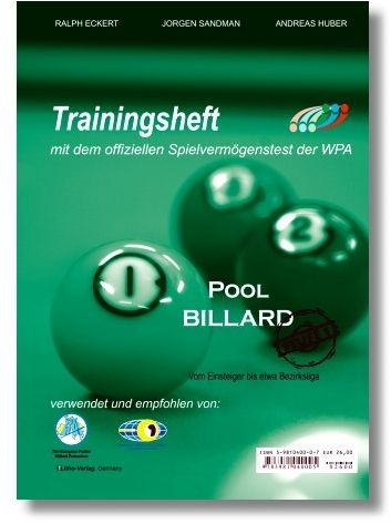 "Trainingsheft Pool"" ,WPA Stufe 1 , 64 Seiten"