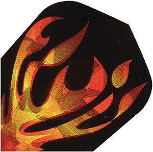 """High-Tech Flys 2D Hologram, Motiv """"flame"""""""
