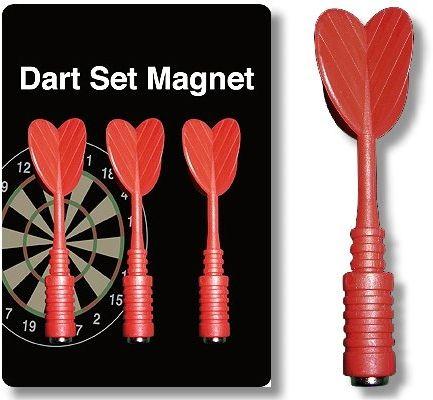 Magnet-Dart-Ersatzpfeile rot