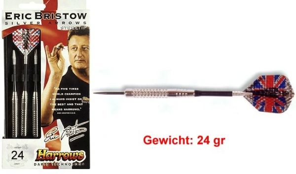 Steeldart SILVER ARROW Gewicht 24 gr