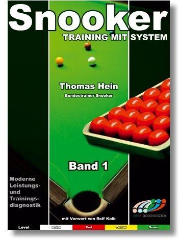 "Trainingsheft SNOOKER"" , STUFE 1, 68 Seiten"