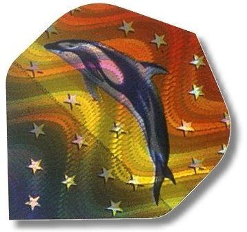 "High-Tech Flys 2D Hologram, Motiv ""Delphin"""