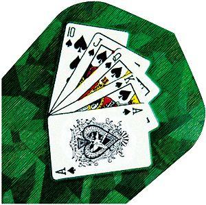 """High-Tech Flys 2D Hologram, Motiv """"cards"""""""