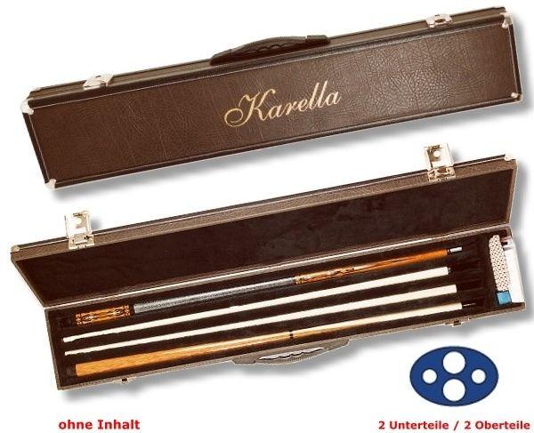 """Queue-Koffer """"KARELLA"""" LUXUS, für 2 Unterteile /2 Oberteile"""
