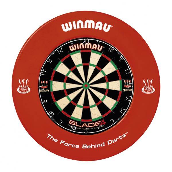 Winmau Surround (Auffangring), rot, Durchmesser ca. 68 cm