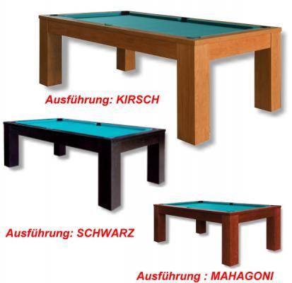 Billardtisch TRENTO, ein hochwertiger Massivholz -Tisch zu einem günstigen Preis