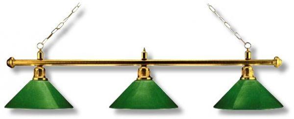 """Billardleuchte Modell LONDON"""", Länge 148 cm, Schirmdurchmesser 35 cm"""