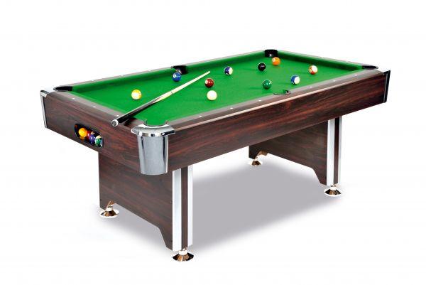 Billardtisch Sedona, ein hochwertiger Tisch zu einem günstigen Preis in Mahagoni-Dekor
