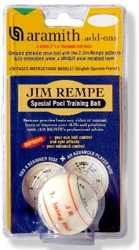 TRAININGSKUGEL POOL 57,2 mm von JIM REMPE, mit Übungsanleitung
