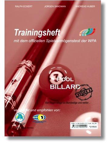 "Trainingsheft Pool"" ,WPA Stufe 3, 77 Seiten"