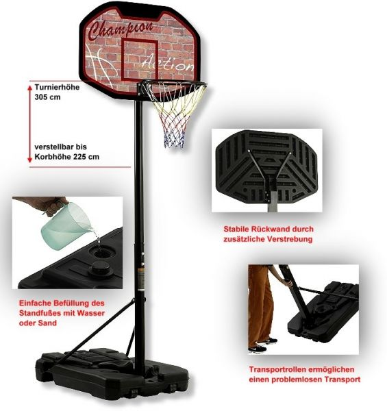 "Basketball-Anlage Bandito ""Champion"""