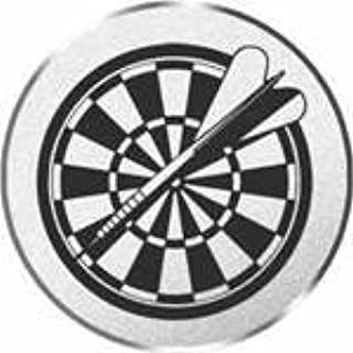 Dart-Emblem, Farbe SILBER, Durchmesser 50 mm,