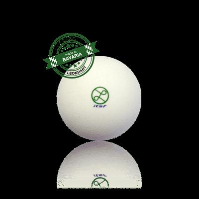 Kickerball Leonhart ITSF, weiß, 34 mm, rauh-griffig