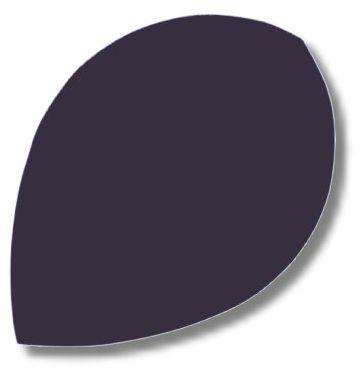 Dartfly Nylon Pear, schwarz