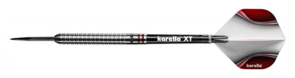 Steeldart Karella SHOTGUN silver, 80% Tungsten, 22g - 24g