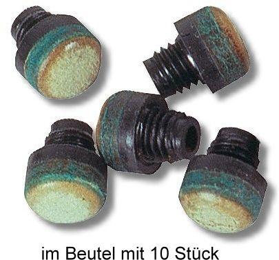 Schraubleder M 8, 12 mm , im Beutel mit 10 Stück