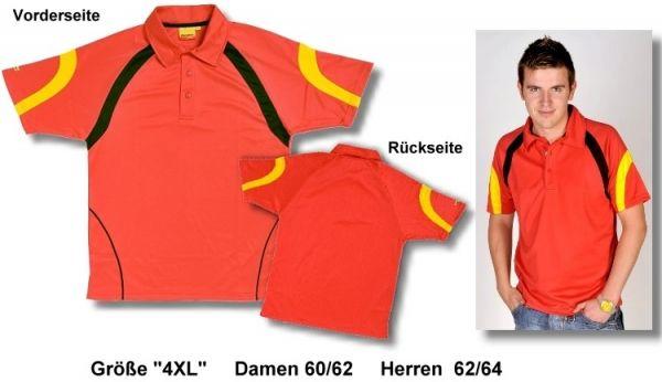 """Sport-Poloshirt für """"Sie"""" und """"Ihn"""" , Größe """"4XL"""", Damen 60/62, Herren"""
