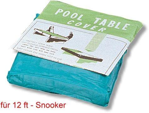 Abdeckplane Standard, für Snookertische 12 ft,