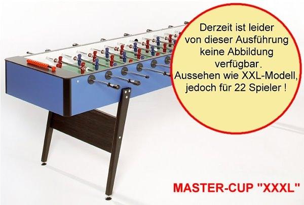 Fußballkicker Master Cup Xxxl 22 Mann Kicker
