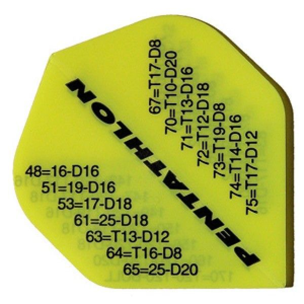 Dart-Fly PEN-TATHLON, Standard, Checkout neongelb