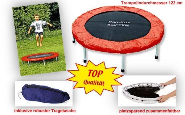 Bandito Trampolin, für Indoor und Outdoor