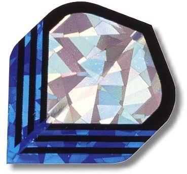 "High-Tech Flys 2D Hologram, Motiv ""Silber-blau"""