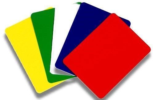 Cut Cards, 100% Plastik, für Poker und Black JAck.