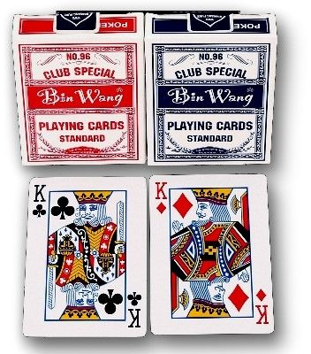 "Pokerkarten ""Playing Cards Standard"" 1 Deck 52er Blatt"