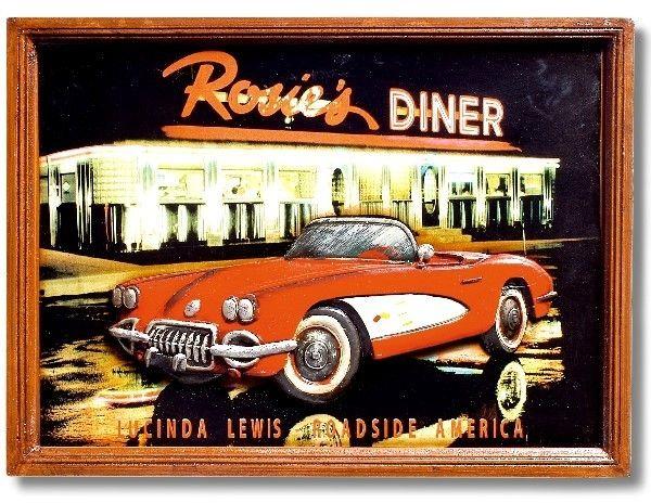 Billard-Wandbild Rosies Diner