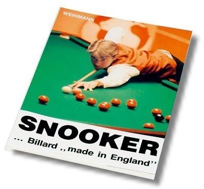 """Snooker...Billard """"Made in England"""". 152 Seiten"""