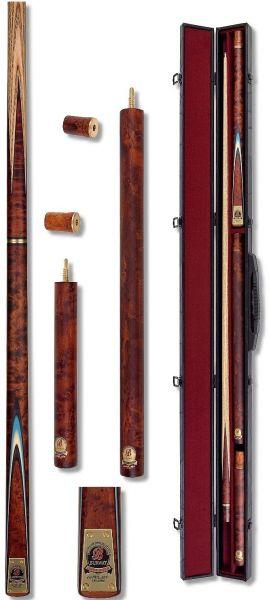 """Snookerqueue RILEY BURWAT """"GOLD"""" !inkl. Koffer """"Luxus"""""""