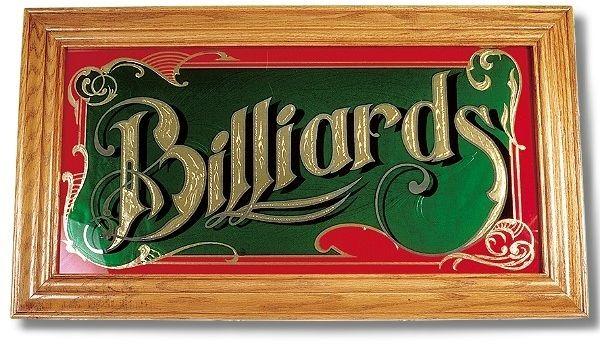 """Spiegel """"Billiard"""" mit Echtholzrahmen"""