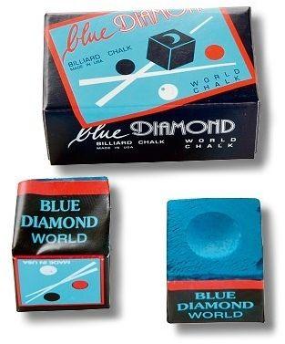 Kreide BLUE DIAMOND, kleine Box mit 2 Stck. blau