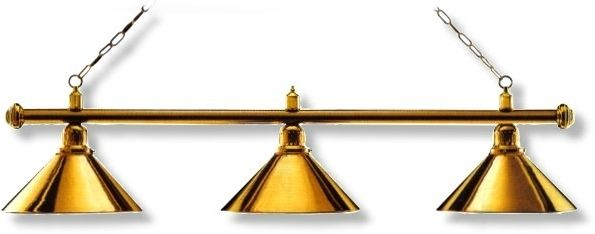 """Billardleuchte Modell """"LONDON"""" Länge 148 cm, Schirmdurchmesser 35 cm"""