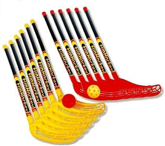 FunHockey Schläger - Spar - Set, ideal für den Schul- und Teamsport